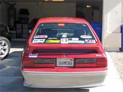 Seymour races in San Diego, California