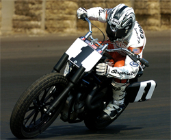K&N sponsored racer Kenny Coolbeth is ready for the Indy Mile AMA Pro Flat Track Grand Nationals