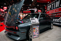 """Two Guys Garage"" host Kevin Byrd brought modified BMW M5 to SEMA show"