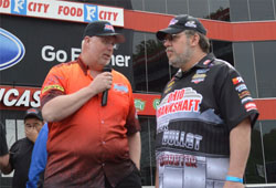 Kevin Fisher shares his thoughts on his number one qualifying effort with X-DRL co-announcer Carl Robinson.