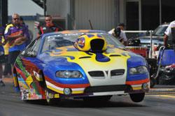 NHRA Drag Racer Keith Raftery