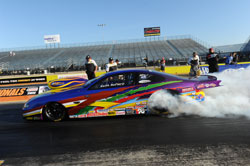 NHRA Drag Racer Keith Raftery in Dallas, Texas