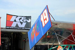 Keith Butler and the K J Motorsports Team value their sponsors and fans a great deal.