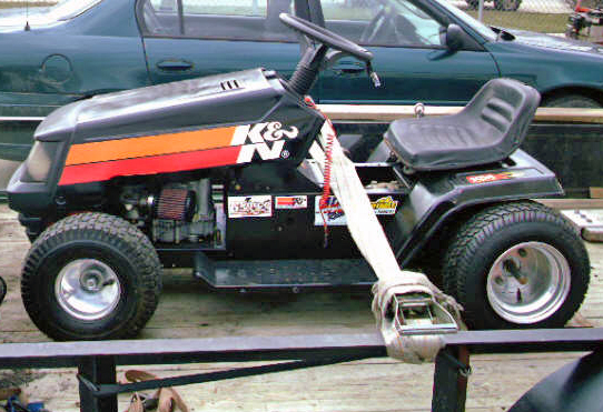 Racing Lawn Mower Parts : Racing parts lawn mower