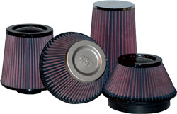 K&N has a large selection of universal filters for racing vehicles, radio-controlled cars, generators, snowmobiles, tractors and more