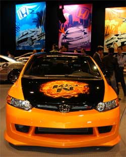 K&N's 2006 Honda Civic SiR on Display in Las Vegas, Nevada