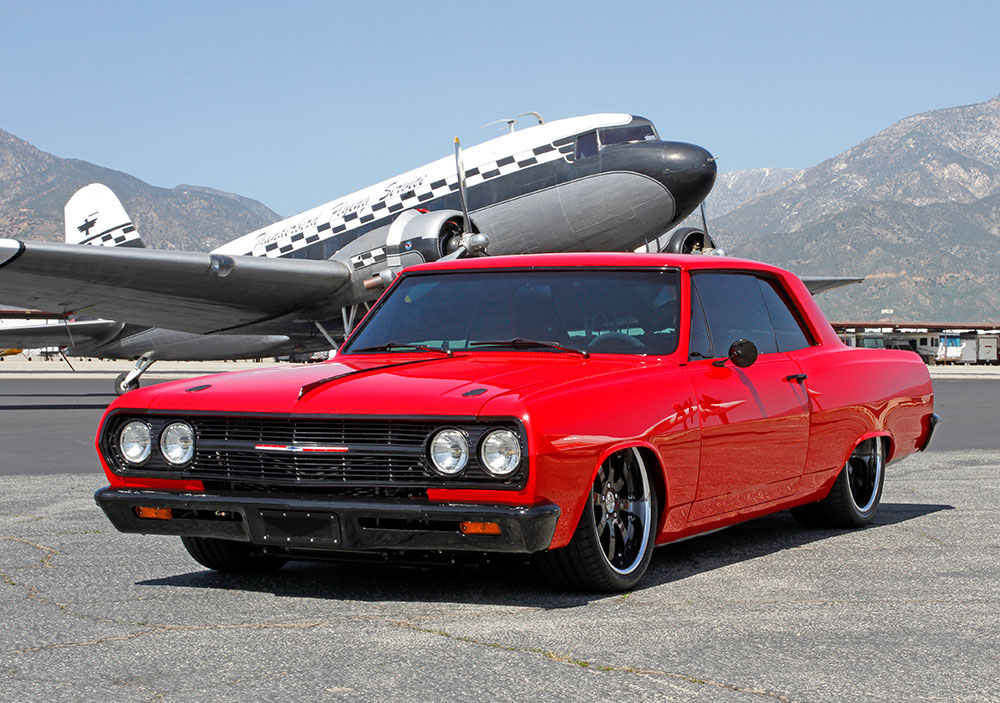 1965 Chevrolet Chevelle Malibu SS Epic Do-Over with K&N Air Filters