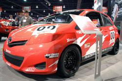 2012 Yaris SE in the SEMA Show Toyota Exhibit