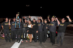 Dylan Kwasniewski and his team celebrating their win!