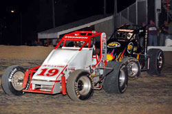 I would be happy if either Kody or I take home the Silver Crown championship and also the Xtreme Sprint Series championship.