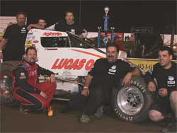 Cory Kruseman and Lucas Oil Team, photo courtesy of Doug Allen