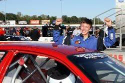 Kyle says that winning the Owosso Nationals this year means as much to him as winning the 2010 Owosso Speedway Championship.