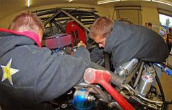 Rockstar Makita Team LeDuc gets Ford ready for CORR series racing