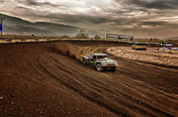 Kyle Leduc has achieved first-time winner in the Championship Off-Road Racing (CORR) series back in 2003, a Pro 4x4 win in 2008, and he's currently competing in both Pro 4 and Pro2 classes in the LOORRS Lucas Oil Off Road Racing Series.