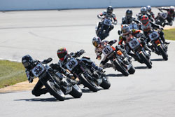Kyle Wyman at the Vance & Hines Harley Davidson XR1200 Racing Series season-opener