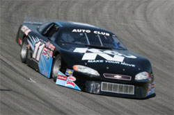Kyle McGrady received his NASCAR license before his California driver's license and competes in the Toyota Speedway at Irwindale's Auto Club Late Models Division