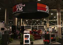 K&N Engineering Booth at LA Auto Show