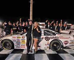 Corey LaJoie won his second NASCAR K&N Pro Series East race of the season.