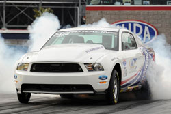 The K&N sponsored Lamb said he immediately felt comfortable in the new Mustang.