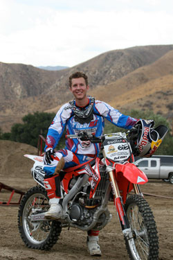 Freestyle Motocross Rider Lance Coury