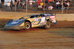 Dane Laraway returned to Marion Center Speedway on June 11, and finished in first place.
