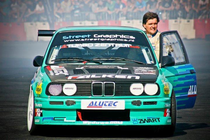 European K N Sponsored Drift Racer Lars Verbraeken Ready To