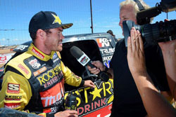 """""""With only three rounds of racing left there a lot of concerns, but getting clean air isn't one of them thanks to our K&N air filters,"""" commented Kyle."""