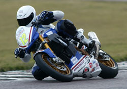 Lee Hardy races Thundersport GB and has progressed to the Streetfighter A Championship