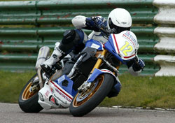 Lee Hardys' Aprilia Tuono 1000cc motorcycle