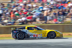The number 3 Corvette C6.R was driven by Johnny O'Connell, Olivier Beretta, and Antonio Garcia (Richard Prince/GM Racing Photo).