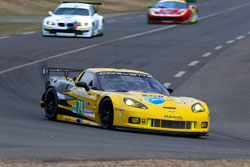 Chevrolet celebrates its 100th anniversary and the 10th anniversary of the team's first Le Mans victory in 2001.