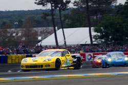 The 2011 endurance contest victory was the seventh class win at Le Mans for Corvette Racing, and it's first in the GTE Pro category.