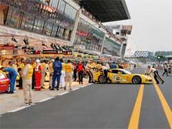 Corvette Racing at Le Mans, photo by Greg Johnson