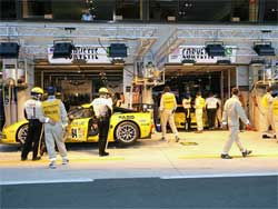 Corvette Racing has 8 consecutive podium finishes at Le Mans, photo by Greg Johnson