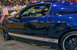Sony audio system and Xenon body moldings are part of the modifications on Pro Motorsports 2010 Ford Mustang GT