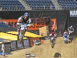 ESPN's Navy Moto-X World Championships at San Diego's Qualcomm Stadium in California third at Dirtcar Nationals Finale