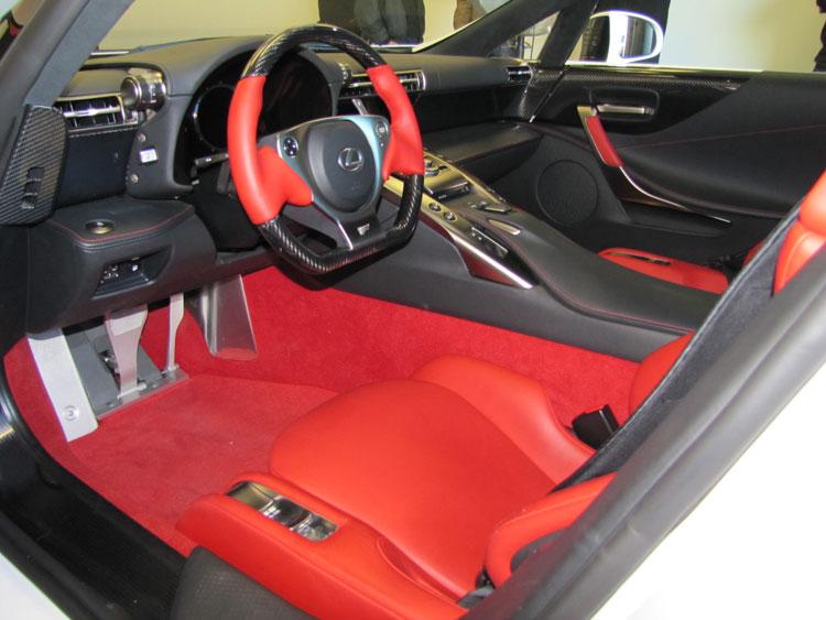 2012 Lexus Lfa Price. 2012+lexus+lfa+interior