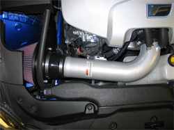 69-8703TS K&N air intake system installed in a 2008 Lexus IS F 5.0L