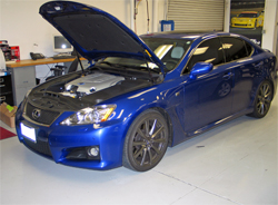 2008 Lexus IS F 5.0L at K&N Headquarters in Riverside, California