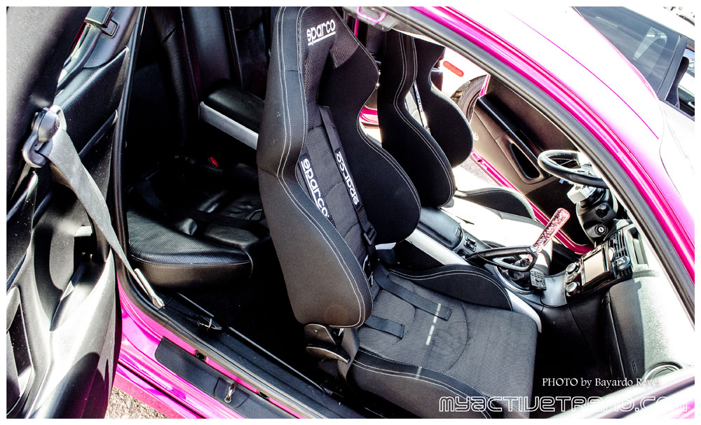 Lina Rodriguez Takes Her High Performance Mazda RX-8 to Car Shows ...