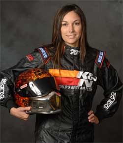NHRA Sportsman Class racer Lindsey Wood