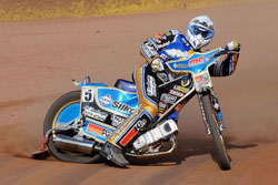 Sundstrom will be doubling up with The Ipswich Witches team in the British Elite League