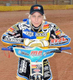 Linus Sundstrom was the Swedish Rider of the Year in 2008