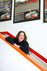 Lisa is a California native and started frequenting the two NHRA races that are held in Pomona, CA ever since she was 8 years old.