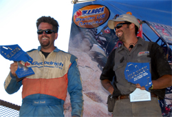 Brothers Brad and Roger Lovell won their sixth straight rock crawling championship in Oroville, California, photo by Jud Leslie
