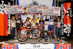 This was Kopp's second win of the year and along with his other top-ten finishes, he now sits firmly atop Grand National Championship points race.