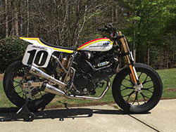 Lloyd Brothers Motorsport and Johnny Lewis 2016 AMA Pro Flat Track Ducati Scrambler