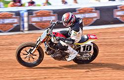 Lloyd Brothers Motorsport and Johnny Lewis 2016 AMA Pro Flat Track Ducati Scrambler