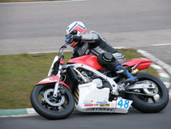 Harrison Brothers Racing sits firmly in fourth position in the Streetfighter B Championship
