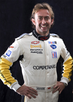 Olivier Beretta drove the Chevrolet Corvette C6.R to his 41st ALMS victory in the 100 minute Tequila Patron ALMS at Long Beach California